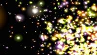 VJ 291 动态粒子光斑视频背景素材