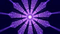 VJ 299 动态粒子光斑视频背景素材