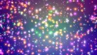 VJ 302 动态粒子光斑视频背景素材