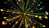 VJ 309 动态粒子光斑视频背景素材