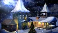 8圣诞节平安夜下雪