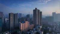 13重庆一天24小时城市生活延时摄影