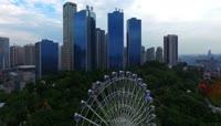 14重庆一天24小时城市生活延时摄影