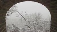 16长城雪景