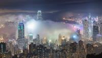 5、全球最美夜景 \- 维港琉璃云夜景