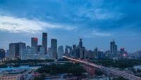 7、北京CBD国贸 延时摄影