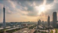 12、广州城市延时摄影