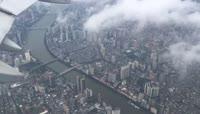 14、鸟瞰广州从天空看广州