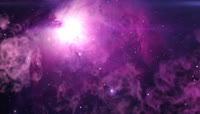 唯美宇宙星系 星云星空 婚礼婚庆晚会舞台LED大屏幕背景 视频素材