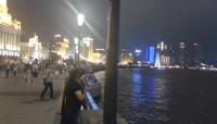 2、实拍上海夜景
