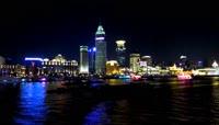 5、上海 黄浦江夜晚美景
