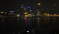 26、上海黄浦江夜景延时摄影