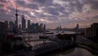 31、上海都市延时摄影