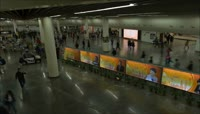 32、上海地铁交通景点建筑延时摄影
