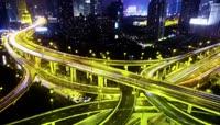 37上海高速公路延时摄影'