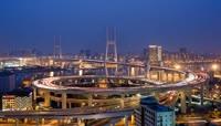 38上海南浦大桥延时摄影