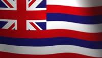 夏威夷__飘扬的旗帜\-美国州和领地的旗帜