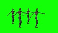 8、Green Screen zombie dance