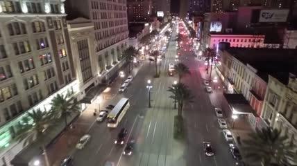 城市夜景延时摄影