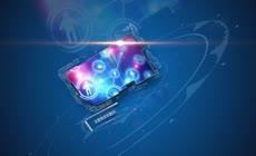 蓝色科技模板图文展示AE模板下载