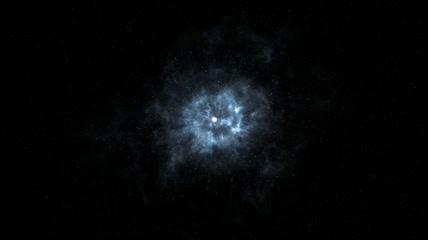f46撼宇宙光效极光地球切换演绎企业LOGO揭示模板