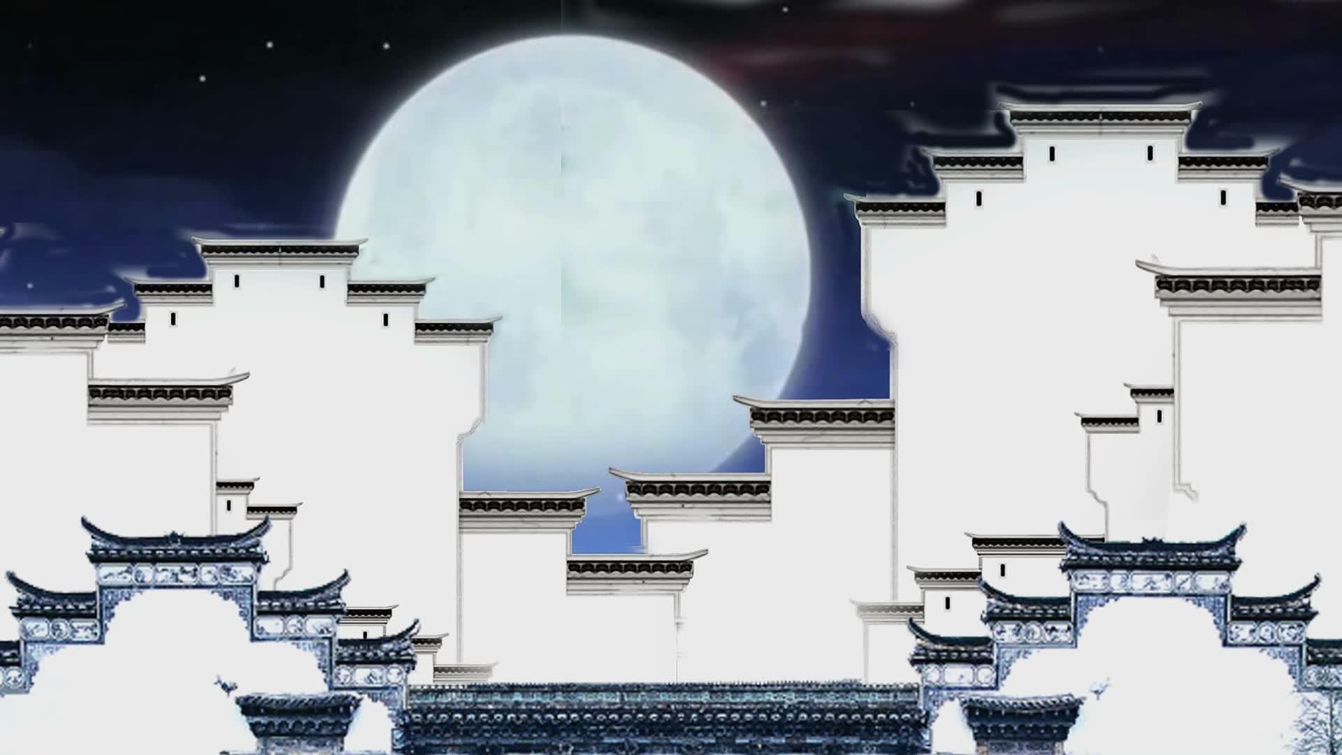 配乐成品 月亮看我 中国梦新歌