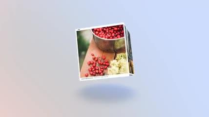 社交照片组成3D盒子进行展示的AE源文件,2色入