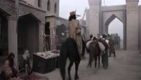 ST01745中国古代唐朝丝绸之路中西方贸易沙漠骆驼商队