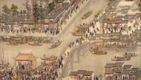 ST01897北京故宫博物馆清朝皇帝康熙南巡图城市盛世繁华