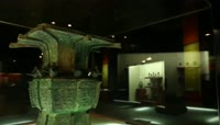 ST00766河南省博物馆青铜鼎夏商青铜文物展示