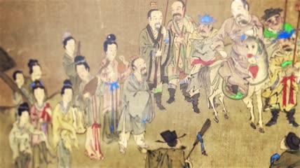 ST00148孔子儒家思想春秋战国中国古代文化