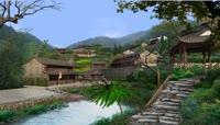 中国古代村庄农村乡村