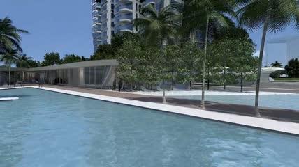01\.新加坡d\´leedon公寓方案动画