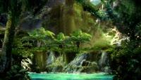 49\.神秘森林瀑布