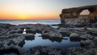 航拍企业旅游宣传片 海岸海水 实拍高清