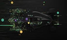 物联网互联网科技元素背景led视频素材
