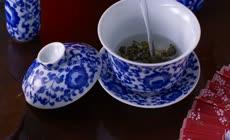 吃美食看表演品茶艺