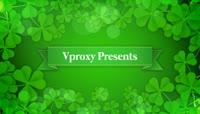 绿叶风格商业宣传模板
