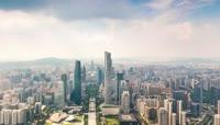广州城市延时摄影高清素材