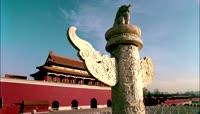 华表北京天安门实拍视频素材古观象