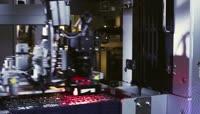 科技电子芯片制造业实拍视频素材