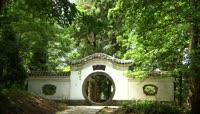 庐山古老文化自然风光古典建筑特色高山旅游