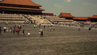天安门广场人流延时摄影实拍视频素材