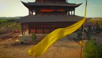 中国兰州美丽风景航拍实拍视频