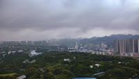 航拍重庆城市景观视频素材