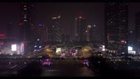 2K航拍广州夜景实拍视频