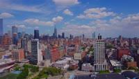 4K超清航拍纽约繁华城市宣传视频