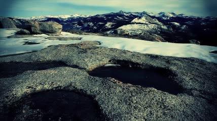 实拍电影色调唯美公园自然风景视频素材