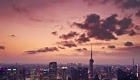 4K航拍上海风光景观宣传视频素材