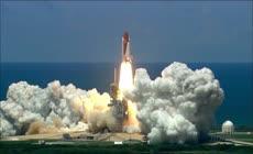 高清实拍国外航天技术航天飞舞宇宙飞船发射